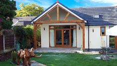 How to: Modernise a bungalow | homify | homify Bungalow Extensions, Garden Room Extensions, House Extensions, Plans Architecture, Architecture Magazines, Contemporary Architecture, Bungalows, Classic Dining Room, Timber Frame Homes