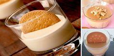 Realiza una crema de galletas María rápida y sencilla, Si te gusta dinos HOLA y dale a Me Gusta MIREN… | Receitas Soberanas