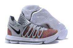 ae1dab2584b2 Shop Nike KD 10 Multi-Color Black-Cool Grey-White - Mysecretshoes Nike