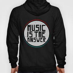 Music Hoody by Daniac Design | Society6