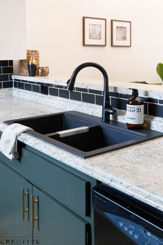 Say Hello To This Gorgeous Kraus Kitchen Double Basin Matte Black