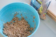 Preschool Valentine's | Homemade Bird Seed Feeders (via @jenloveskev)