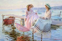 By Alexander Averin ~ This reminds me of sisters Glory and Felicity