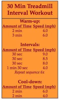 30 Min TreadMill  workout