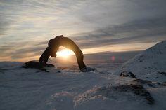 Yoga in Lofoten