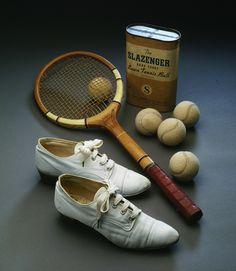 Vintage tennis gear via Musée du Costume et de la Dentelle -- view board http://pinterest.com/davidos193/essentials-men-s-accessories/