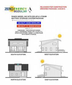 Zero Energy Modular Concept Small Home