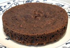 3 minute chocolate cake - always good to have on hand!