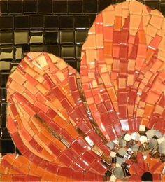 Glass Flower Mosaic - Mural Art Decoration