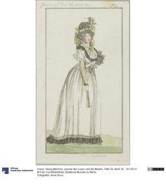 SMB-digital   Journal des Luxus und der Moden, Tafel 29, October 1792.