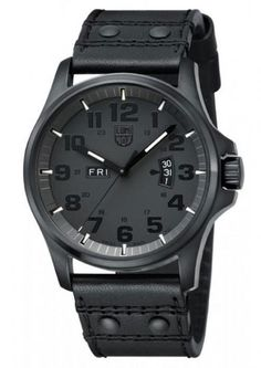 Luminox Land Field Day Date Blackout Uhr 1879.BO NEU