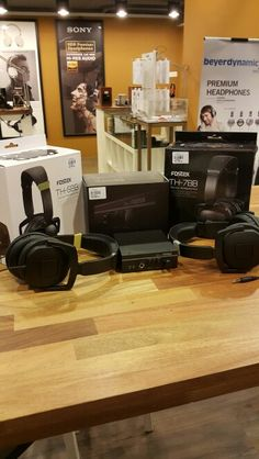Fostex TH-5BB, TH-7BB & HP-A3 now available at Amplified folks.