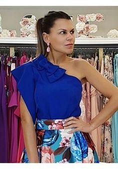 FALDA ASIMÉTRICA RITA Contemporary Fashion, Blouse Styles, Trendy Dresses, Red, Wedding, Inspiration, Different Dresses, Stylish Dresses, Lace Dresses