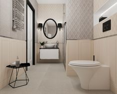 Toilet, Bathtub, Mirror, Bathroom, Retro, Furniture, Design, Home Decor, Google