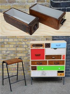 Up-cycled Drawers - Rupert Blanchard