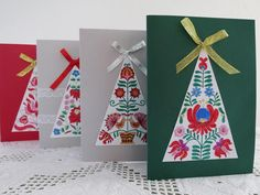 Jesus Birthday, Craft Work, Xmas Tree, Decorating Your Home, Advent Calendar, Christmas Crafts, Triangle, Projects To Try, Embroidery