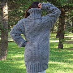 Pull gris Mohair, Pull tricot à main, Pull Crewneck, Pull Oversized, Pullover Mohair Yarn, Mohair Sweater, Turtleneck, Cardigan Sweaters, Long Cardigan, Gros Pull Long, Poncho Cape, Handgestrickte Pullover, Pull Gris