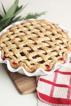 Cranberry Spiced Apple Pie