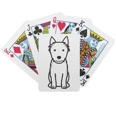Australian Terrier Dog Cartoon Poker Cards