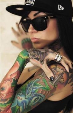 Awesome 3D Tattoos design