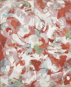 1952 F James Brooks - abstract expressionist