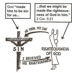 God sent Jesus Christ to become your perfect sacrifice