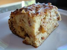In Erika's Kitchen: Recipe: Savory bread pudding with caramelized onions and Comte cheese