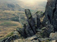 Nant Ffrancon in North Wales.
