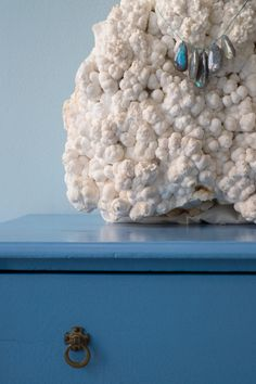 Labradorite pebbles on calcite rock #pippasmall #pippasmalljewellery #ethicaljewellery #ethicallymade #labradorite #necklace
