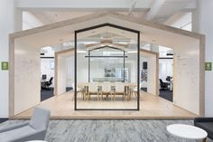 Zendesk, a global software development company that operates a cloud-based customer service platform that supports more than businesses and over 300 million end users, hired architecture and interior design firm Blitz to redesign their 4 floor spac Corporate Office Design, Corporate Interiors, Office Interiors, Corporate Business, Commercial Interior Design, Office Interior Design, Commercial Interiors, Office Designs, Innovative Office