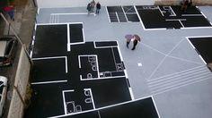 Piantine a cielo aperto: architecture street art negli interstizi urbani | Community Garden