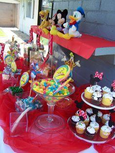 Disney candy buffet