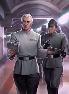 Imperial Officer and Advisor Star Wars Rpg, Star Wars Fan Art, Star Wars Rebels, Star Wars Characters Pictures, Star Wars Images, Imperial Officer, Imperial Army, Cyberpunk, Edge Of The Empire