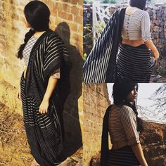 We are in love with our strips.. ❤️ #saree #strips #chidiyaaonline #chidiyaa