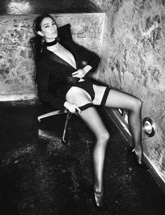 Lily Aldridge by David Bellemere for Lui Magazine March 2016