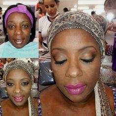 Maquiagem para pele negra  que fiz no curso de maquiagem ! O que vocês acharam?! #instabgs #maquiagem #pelenegra #embelleze #cursodemaquiagem #curso #makeup #maquiadora #maquiadoraprofissional