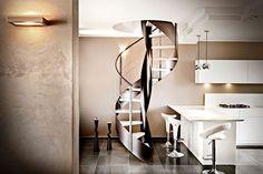 Oltre che belle, le scale a chiocciola rappresentano soluzioni perfette per residenze e case sempre più razionalizzate in termini di spazi.  http://www.arredamento.it/scale-a-chiocciola-prezzi.asp  #scale #scaleachiocciola Officine Sandrini