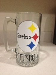 Hey, I found this really awesome Etsy listing at https://www.etsy.com/listing/165047072/pittsburg-steelers-personalized-glass