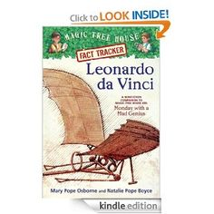 Amazon.com: Magic Tree House Fact Tracker #19: Leonardo da Vinci: A Nonfiction Companion to Magic Tree House #38: Monday with a Mad Genius (A Stepping Stone Book(TM)) eBook: Mary Pope Osborne, Natalie Pope Boyce, Sal Murdocca: Books