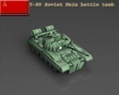 T 80 Soviet main battle tank 3D Model-   The T-80 is a main battle tank (MBT) designed and manufactured in the former Soviet Union. A development of the T-64, it entered service in 1976 and was the first production tank to be equipped with a gas turbine engine for main propulsion (the Stridsvagn 103 only used a supplementary gas turbine by 1971). The T-80U was last produced in a factory in Omsk, Russia, while the T-80UD and further-developed T-84 continue to be produced in Ukraine. The T-80…