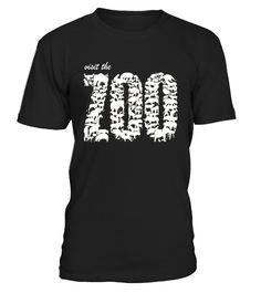 0c2fc6e44 Visit the Zoo Shirt - Animal typography T-Shirt