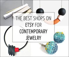 The best shops on Etsy for contemporary jewelry – Perfect for gifts this season! | 40plusstyle.com