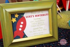Image detail for -Rocket Ship + Space 4th Birthday Party - Kara's Party Ideas - The ...