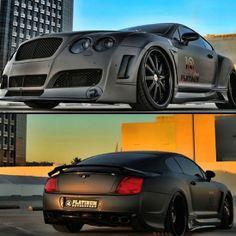 bentley gt ( #cars #matte #bentley #gt #continental ) | H U M Λ N™ | нυмanΛCOUSTICS™ | н2TV™