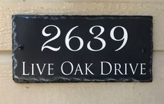Home Address Sign! Personalized House Number Plaque Address Plaque Stone Plaque Wedding Gift House Warming House Number Plaque stone sign by SassySquirrelink on Etsy https://www.etsy.com/listing/285785903/home-address-sign-personalized-house