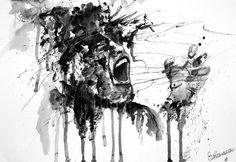 A very expressive piece by RRN-Erosia (dA)