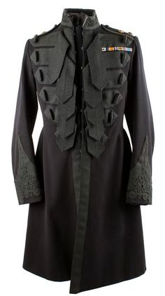 Guards officers frock coat, worn by Officer of the Day, Adjutants, CO, or Royal Colonels