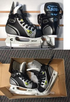 Ice Hockey-Youth 26342: New Graf 301 Hockey Skates Size 2 And 3 -> BUY IT NOW ONLY: $45 on eBay!