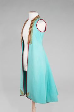 Coat, Albanian, wool and metal, first quarter of the 20th century