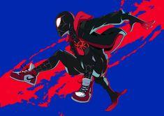 Went to watch Spiderman: Into The Spider-verse yesterday it was so goooood! Spiderman Pictures, Black Spiderman, Spiderman Movie, Spiderman Spider, Amazing Spiderman, Marvel Art, Marvel Heroes, Marvel Comics, Spider Art